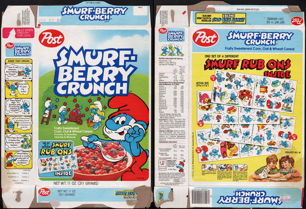 Smurf Berry Crunch