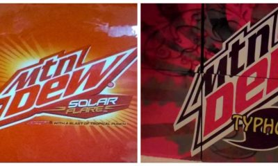 Two of the Dew's alternative flavors