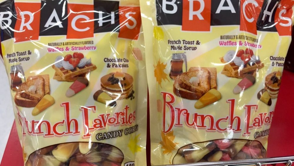Brunch favorites candy corn
