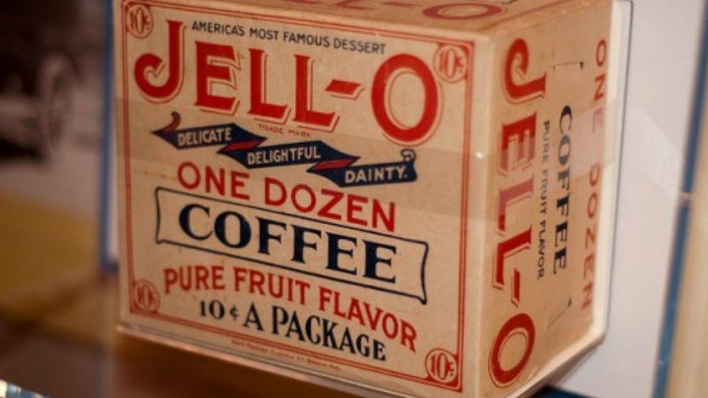 Coffee jello