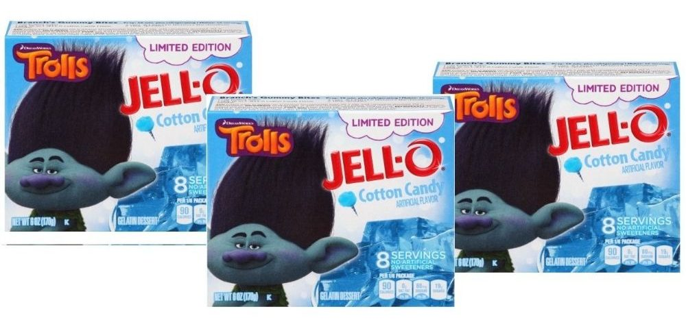 Cotton Candy Jello