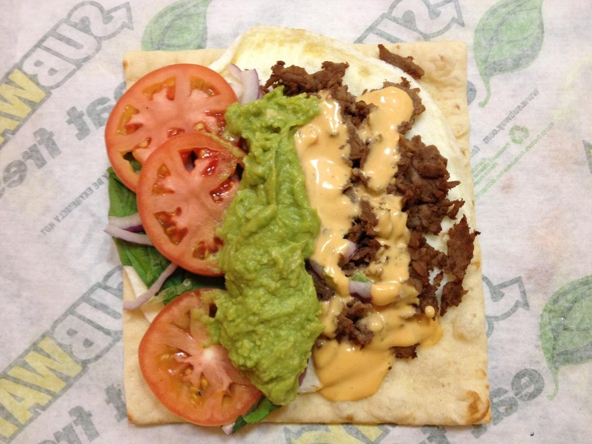 Deconstructed Break Taco Flatbread