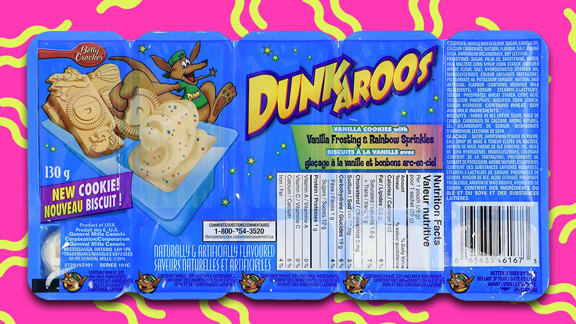 Dunkroos-snacks