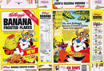 Frosted Banana Flakes