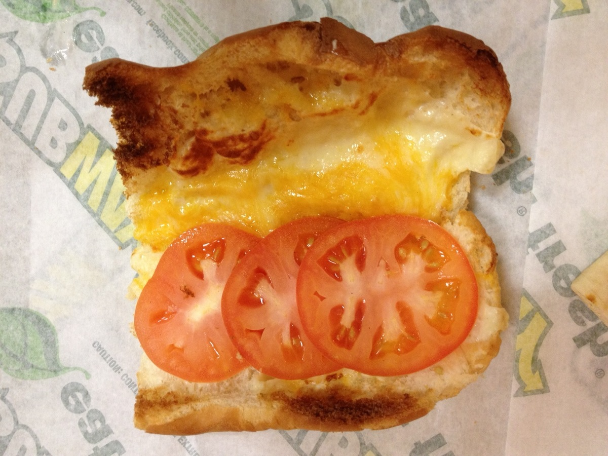Grilled Cheese Sub