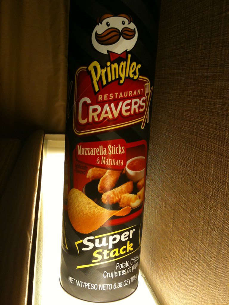 Pringles Mozzarella Sticks & Marinara