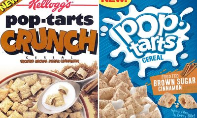 Pop Tarts Crunch Cereal new box versus original box