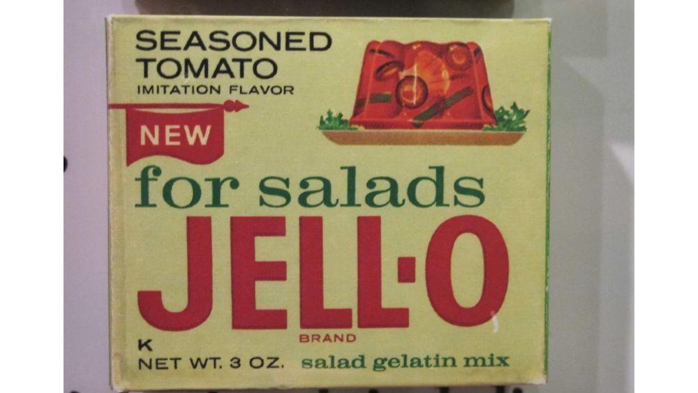 Seasoned tomato Jello
