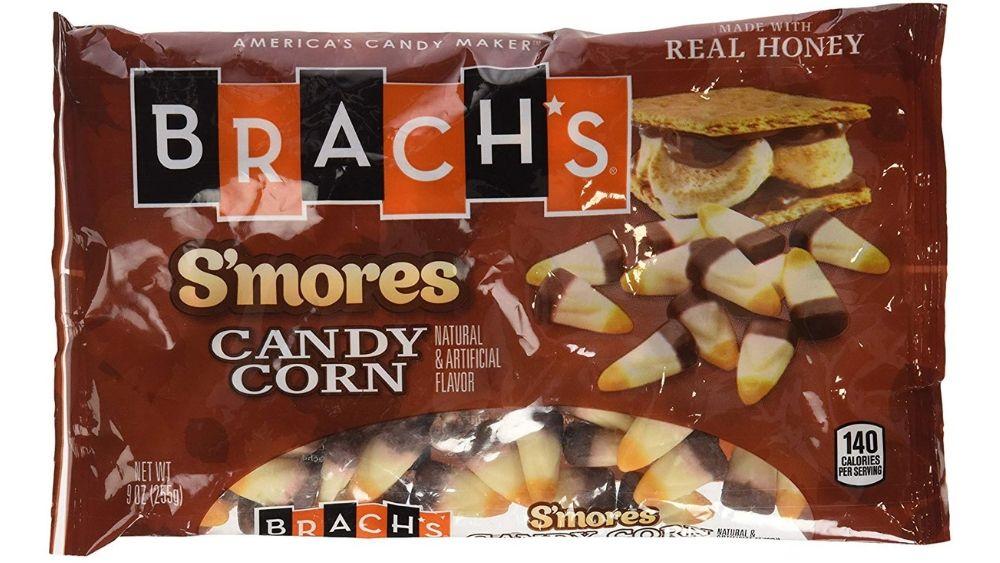 Smores candy corn