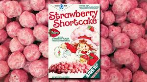 Strawberry Shortcake Cereal