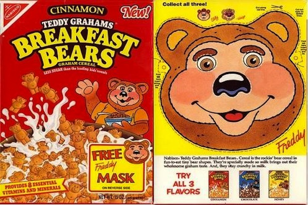 Teddy Graham Breakfast Bears