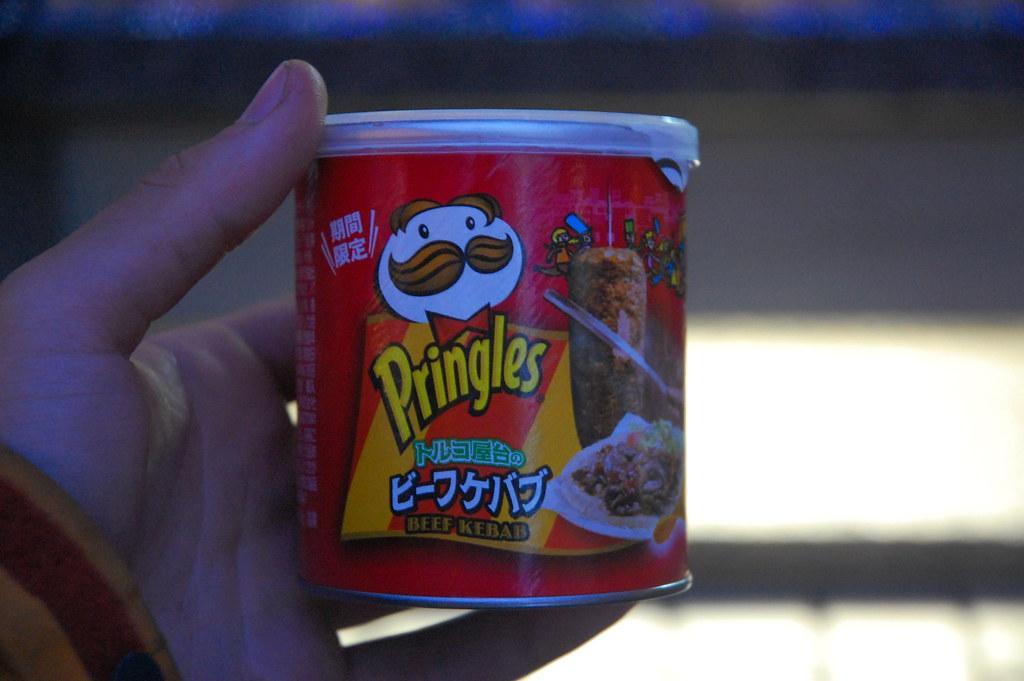 Pringles beef kebab