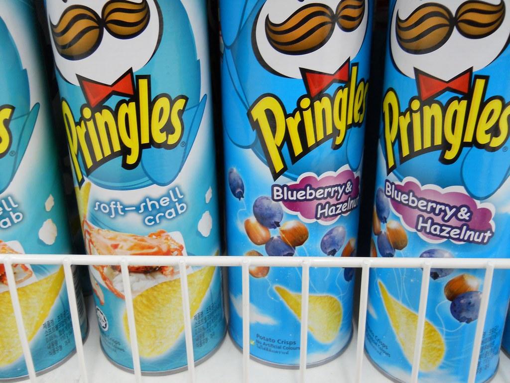 Pringles blueberry & hazelnut