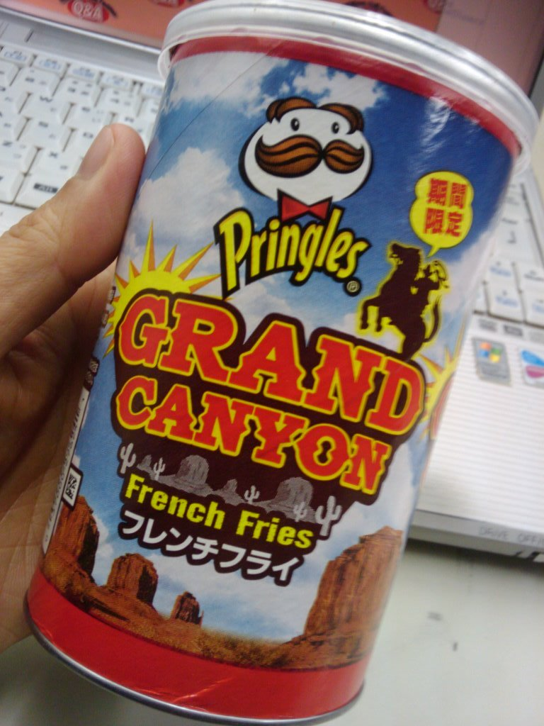 Pringles grand canyon french fries