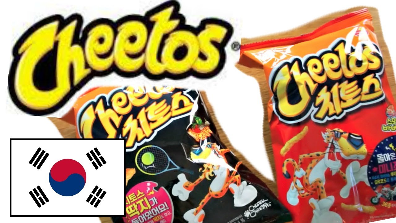 Cheetos caters to international tastes.