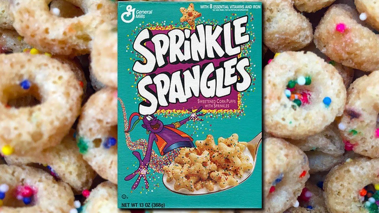 Sprinkle Spangles cereal