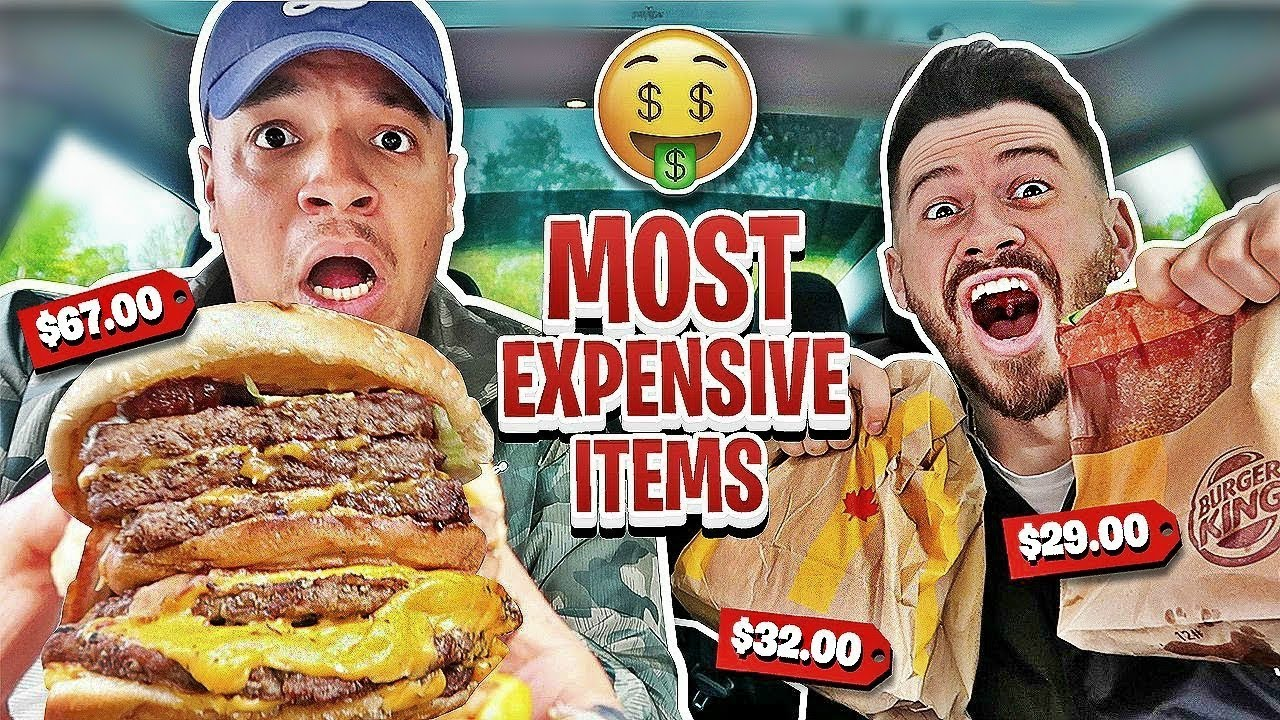 Expensive Items