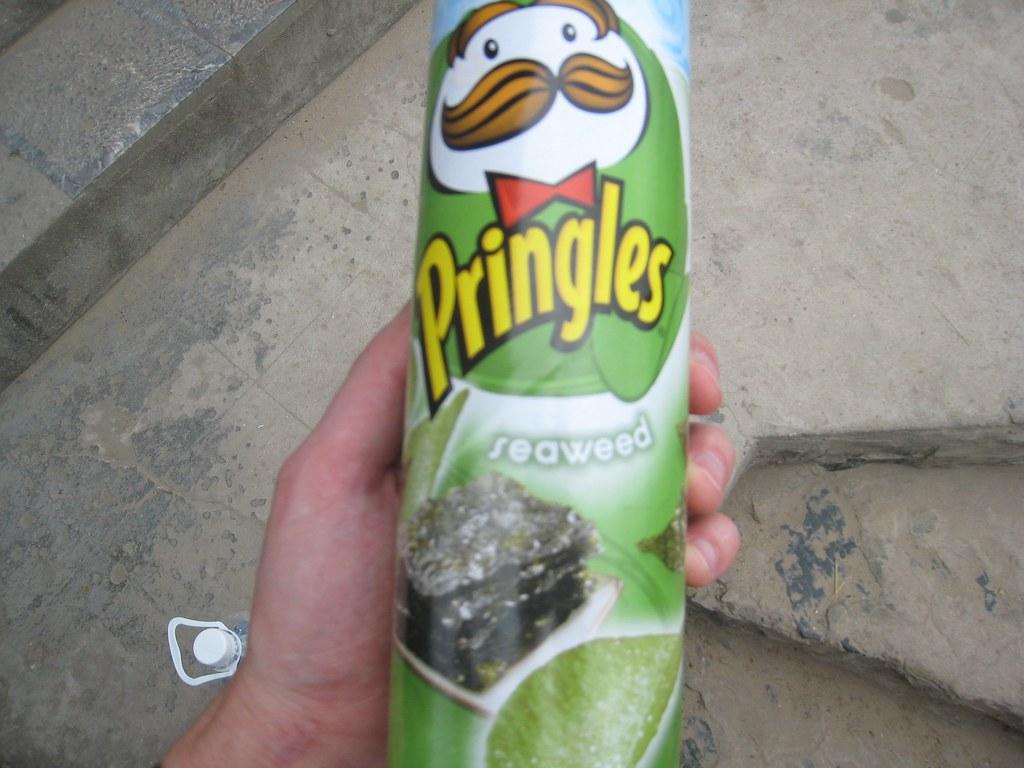 Pringles Seaweed flavor
