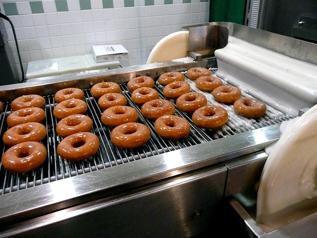 Fresh Krispy Kreme Doughnuts