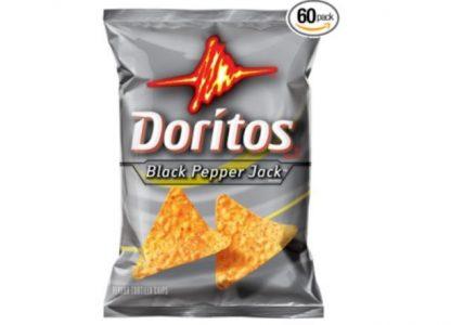 Black Pepper Jack Doritos bag