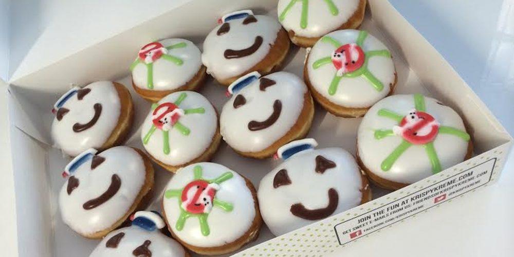 Ghostbusters 30th anniversary Krispy Kreme doughnuts