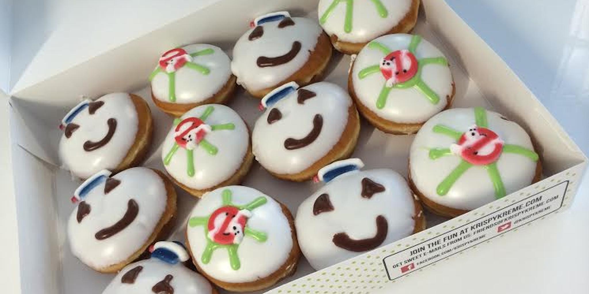 Krispy Kreme Ghostbuster Doughnuts
