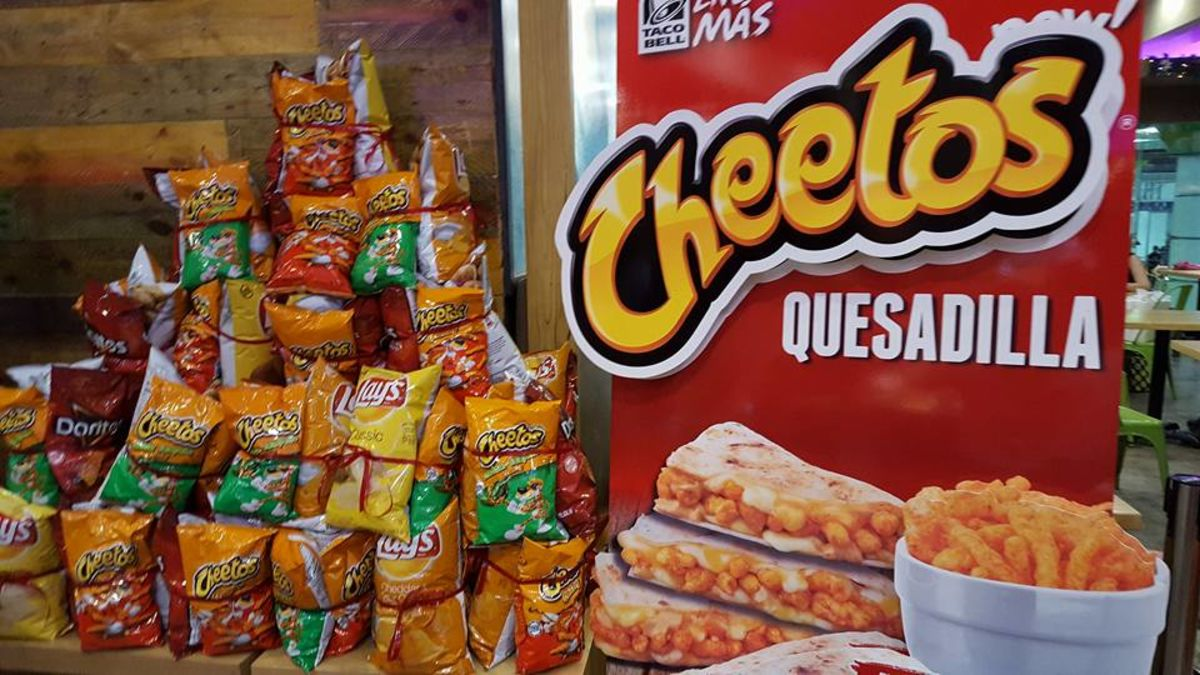 Cheetos Quesadilla from Taco Bell Philippines