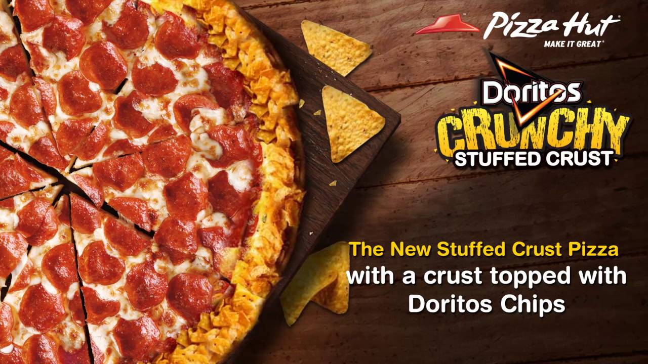 Doritos Crunchy Crust Pizza from Pizza Hut