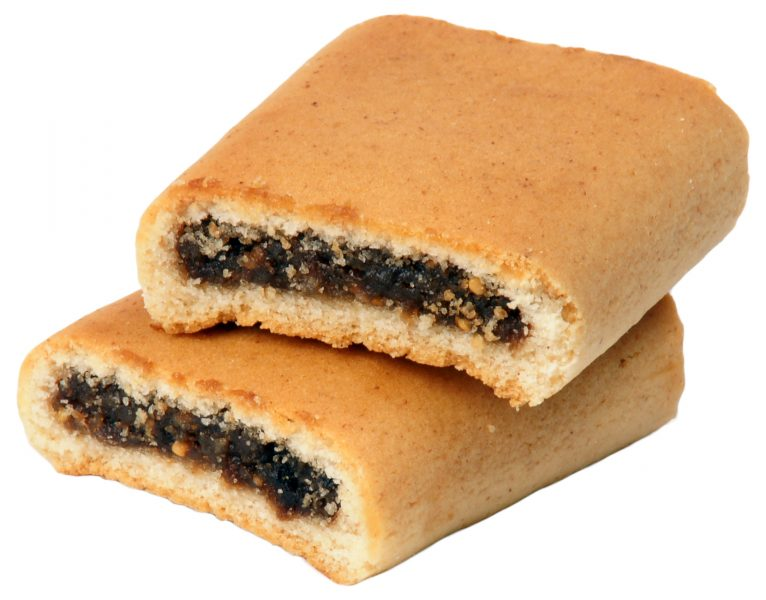 Apple Newtons cookies cross section