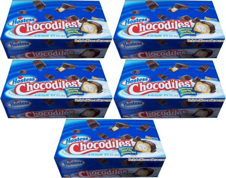 Hostess Chocodiles packaging