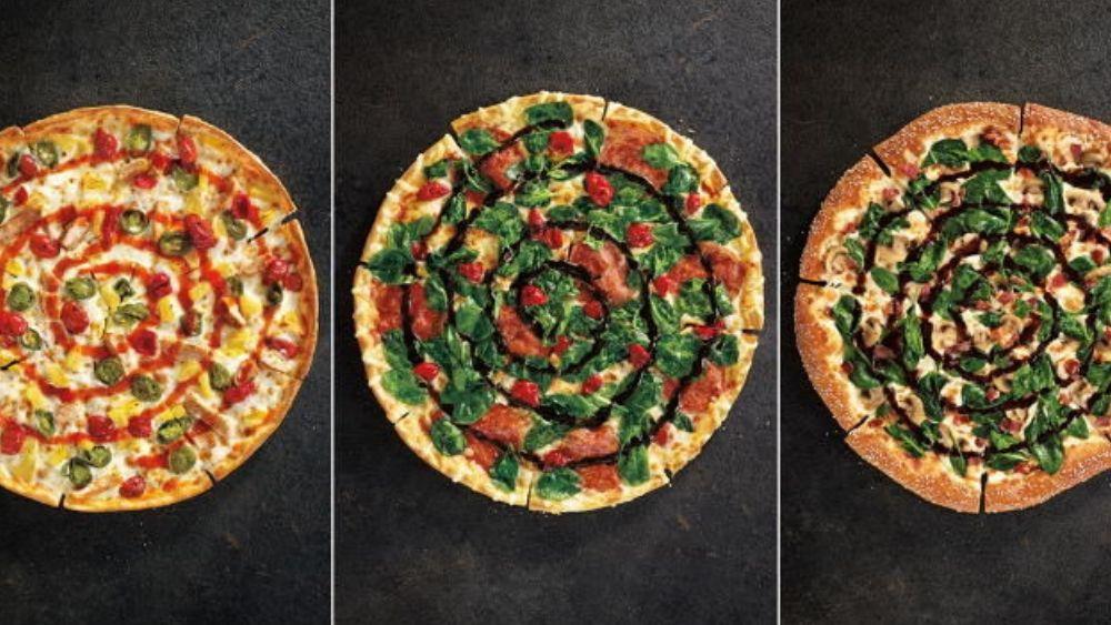 Pizza Hut Gourmet Rebrand 2014