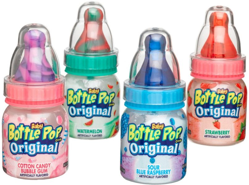 baby bottle pop candy
