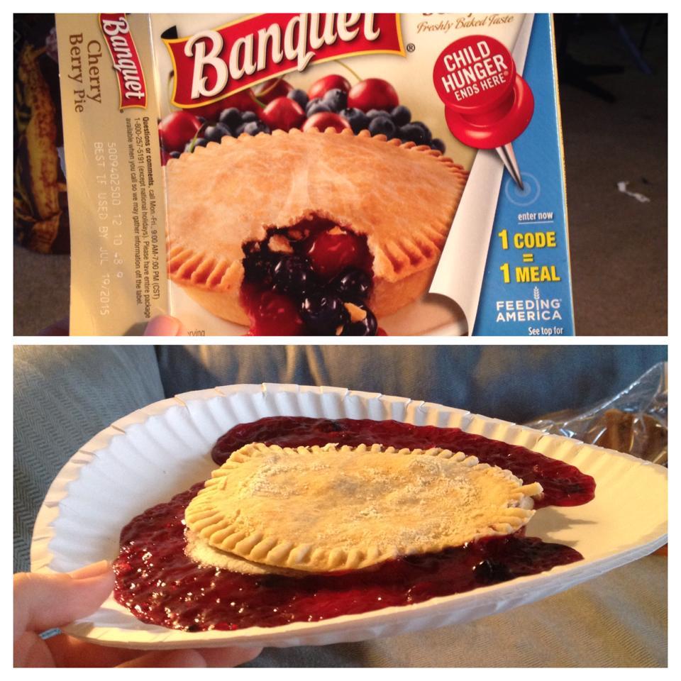 banquet cherry berry pie