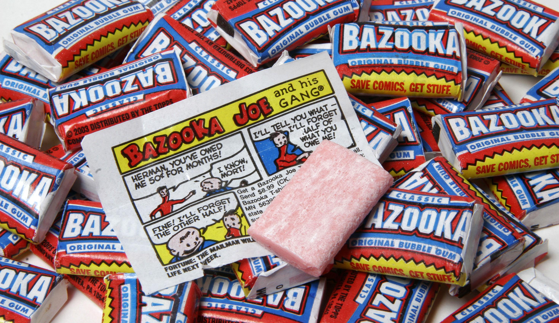 Bazooka-gum