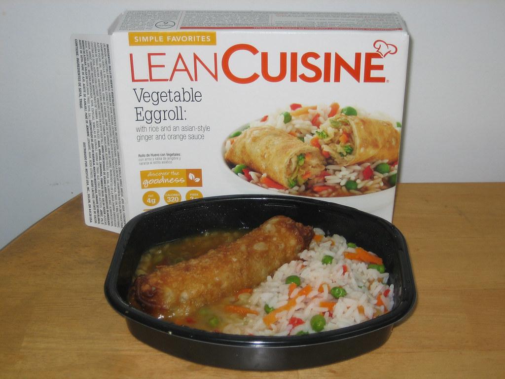 Lean Cuisine Simple Favorites Vegetable Eggroll