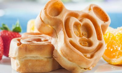 mickey mouse shaped waffles