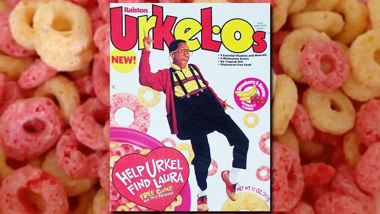 Urkel-O's Cereal