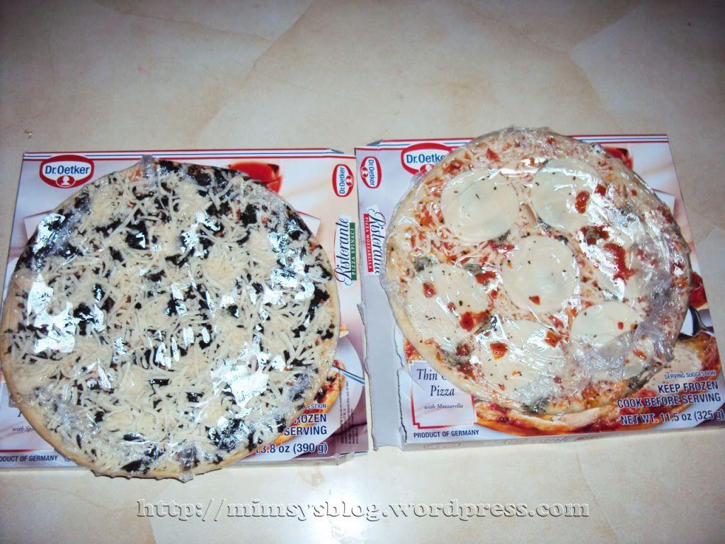 ristorante thin crust pizza