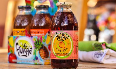 Bottles of Fruitopia Iced Tea