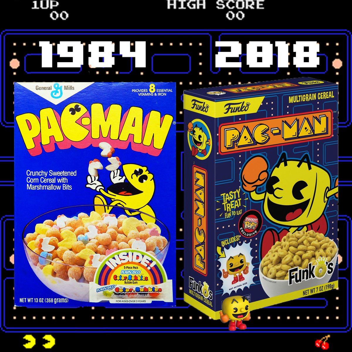 PacMan Cereal