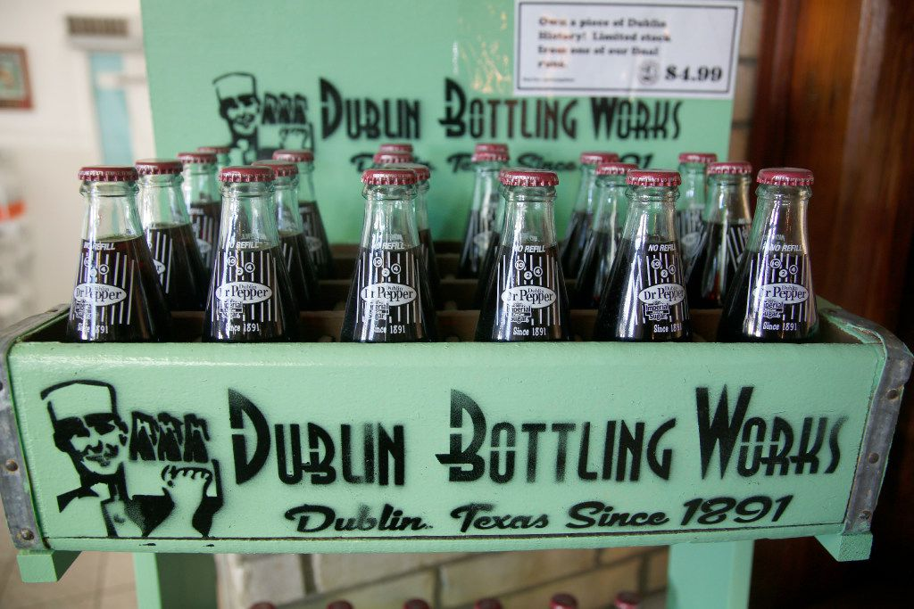 Dublin, Texas is getting a special version of Dr Pepper