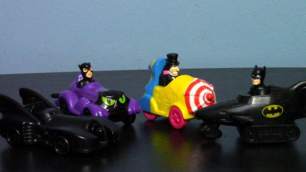 McDonalds Batman Returns Toys
