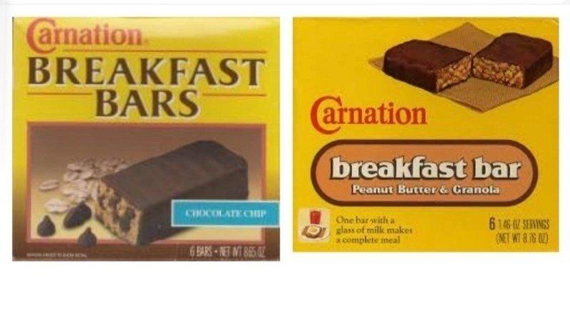 Carnation Breakfast Bars