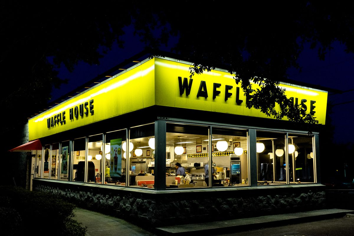 waffle house doors