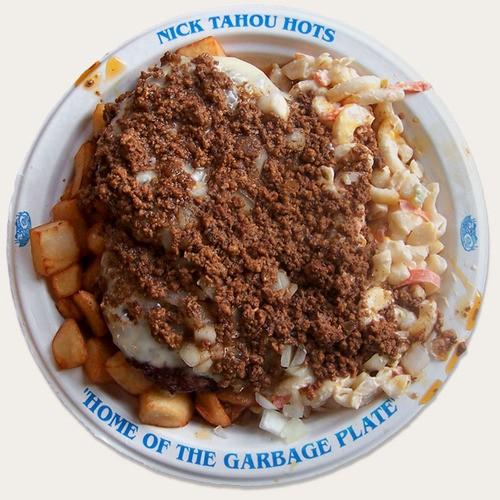 garbage plate