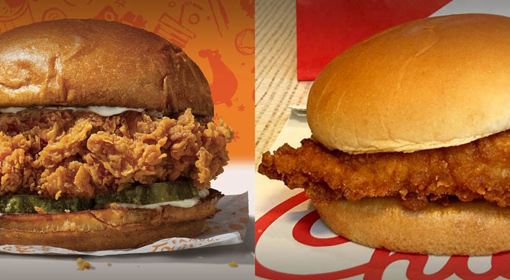 Top 10 Undisputed Fast Food Chicken Sandwiches