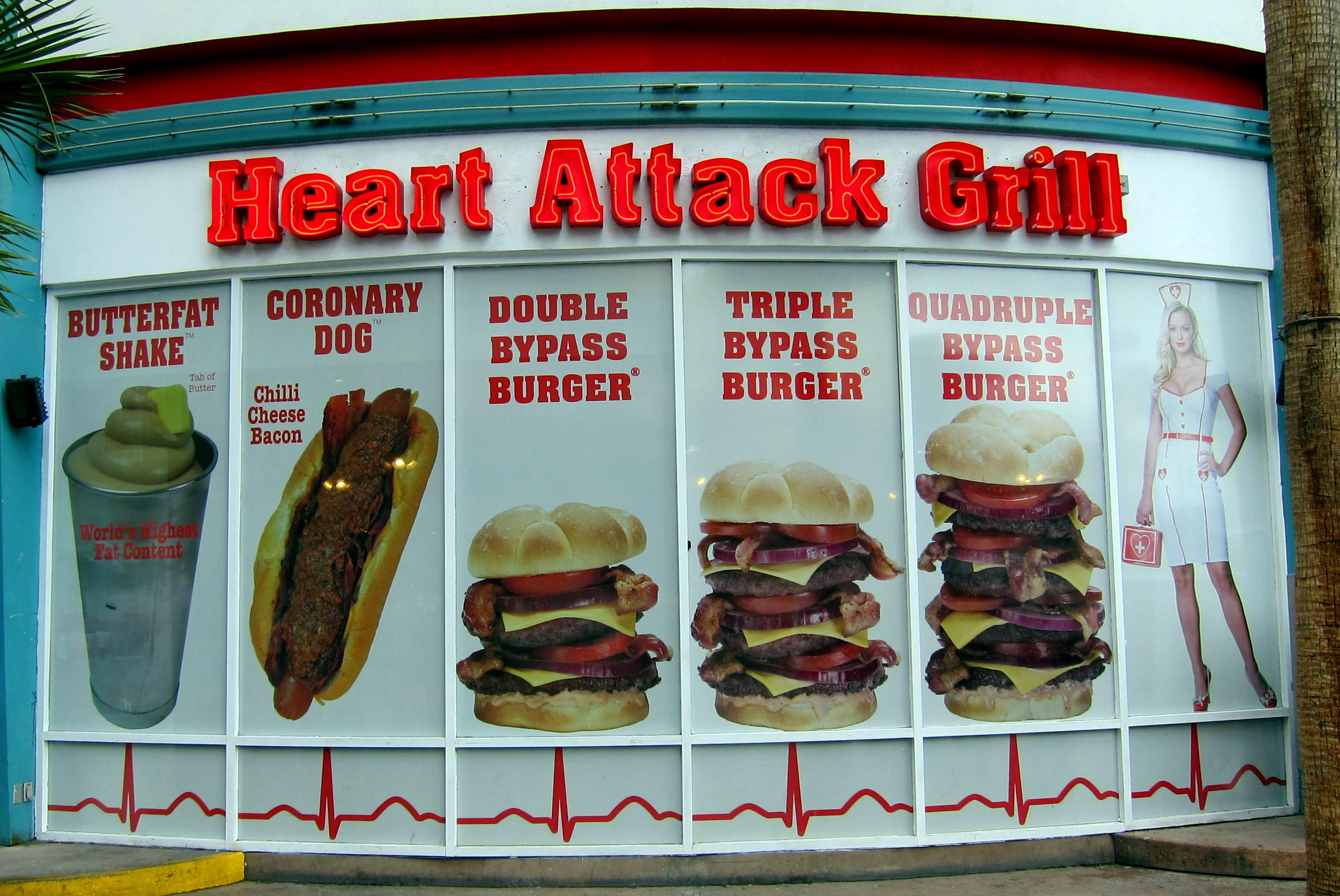 heart attack grill exterior