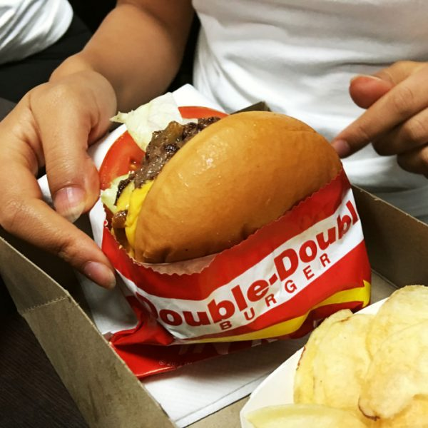 Burger at InNOUt