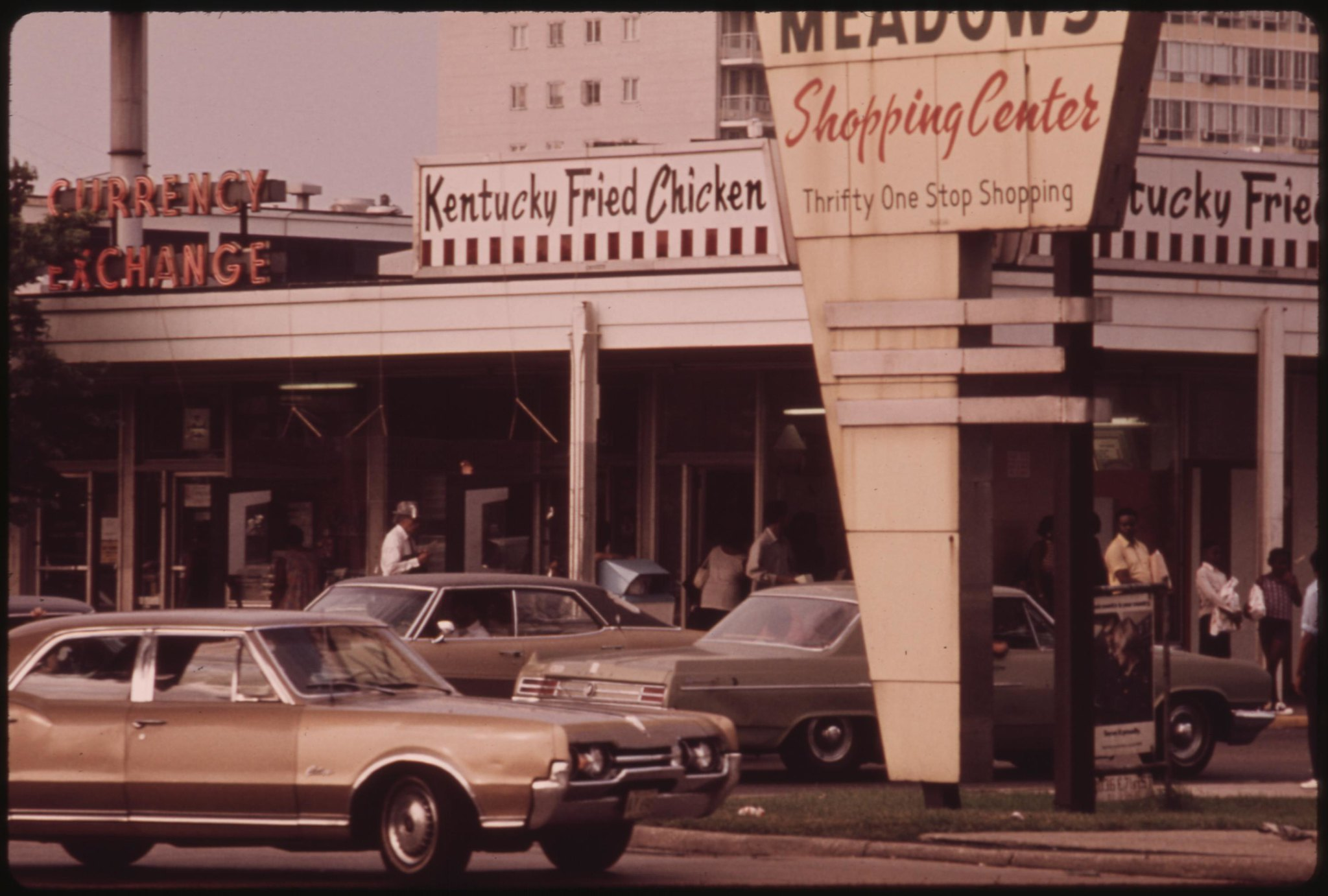 Kentucky Fried Chicken old picture