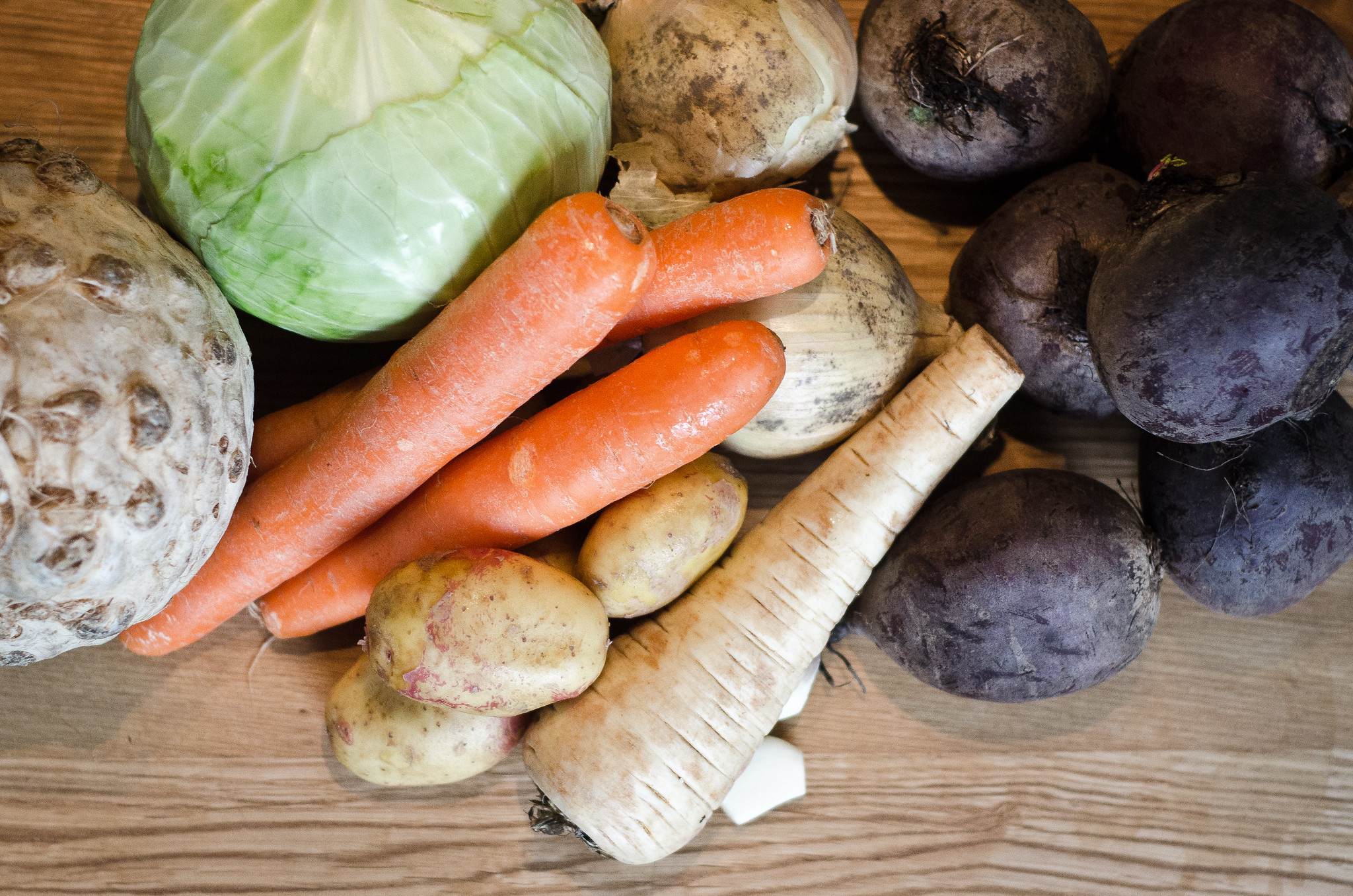Potatoes and Root Vegetables